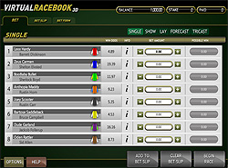 Click to play Virtual Racebook now!